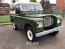 1977 Land Rover 88, Series 3, Fully Restored