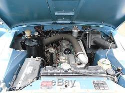1978 S Reg Reg Land Rover 88 4 Cyl Blue Diesel Truck Cab Series 3 No Reserve