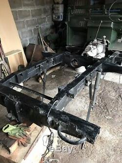 1979 Land Rover Series 3 Rolling Chassis ID