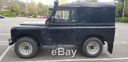 1982 Land Rover Series 3 2.5N/A Black