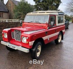1982 Land Rover Series 3 SWB County