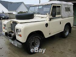 1982 Series 3 Land Rover In Original Condition. Swb Diesel Landrover. Barn Find