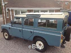 1983 Land Rover Series 3 Lwb 109 Station Wagon Diesel Safari 12 Seater Barn Find
