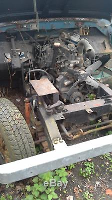1983 series III Land Rover 88 Project