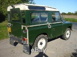 1984 B Land Rover Series 3 88 2.25 Diesel, Original Condition, Straight Series
