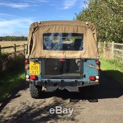 1984 Land Rover 88 Series 3 III 4 Cyl Blue 2.25 Diesel Very Low Miles Mot 2017