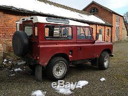 Amazing hybrid TD6 Land Rover Series IIA
