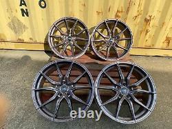 BMW 20''inch ALLOY WHEELS 3/4/5/6 SERIES BMW F30 F32 M SPORT VW T5 T6 NEW FOUR