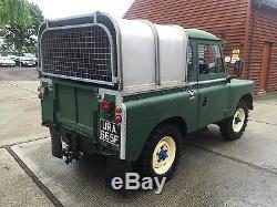 Classic 1968 Land Rover Series 2 88 Pick Up Truck Turbo Diesel 4x4