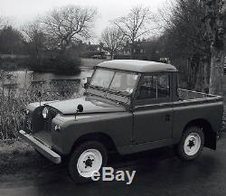 Classic 1959 LAND ROVER Series 2 Truck Cab Tax and MoT Exempt (2 Owner Vehicle)