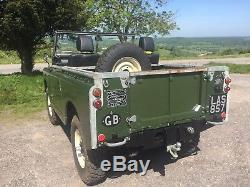 Classic 1959 Land Rover Series 2 Truck Cab SWB 88 3900cc V8