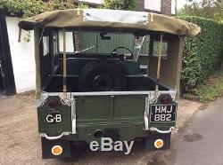 Classic Land Rover Series 1 80 1950