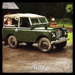 Classic Series 3 Land Rover SWB 2.2 Petrol 1979. Full tilt canvas