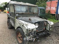 Classic land rover series 1