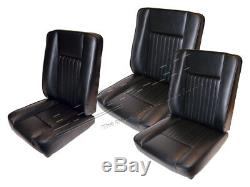 DA4298 Deluxe Vinyl Front Seat Set for Land Rover Series 2 & 3