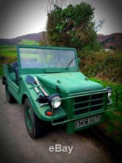 DKW Auto Union Munga not Jeep, Land Rover, Series