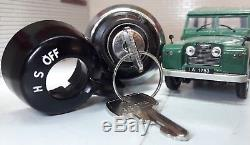 Dash Headlight Lights Ignition Switch Knob Barrel & Key Land Rover Series 2 2a