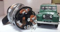 Dash Headlight Lights Ignition Switch Knob Barrel & Key Land Rover Series 2 2a