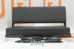 Denim Twill bench seat + lap belts FITS Land Rover Defender 90/110 Series 88/109