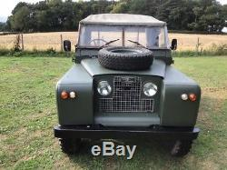 Ex-Army land rover series 2 1968 model petrol 4 cylinder
