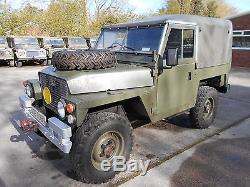 Ex Military Land Rover Lightweight Series 3 Excellent Chassis & Bulkhead Waxoyl
