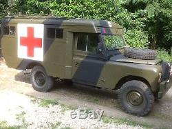 Ex military land rover ambulance. Series 2a