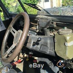 Ex military vehicle Land Rover Series 3 Lightweight