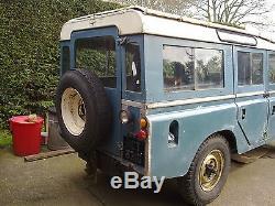 Land Rover 109 Series 2a Safari Station Wagon