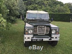 LAND ROVER 2 Series 1979 Petrol MOT until April 2018