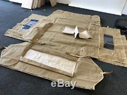 LAND ROVER 88 Series 2 & 3 Full Hood Sand NEW perfect condition top quality