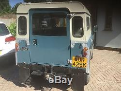 LAND ROVER 88 -Series 3. 1971 Only Number 72 in production run