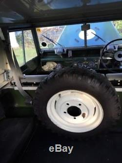 LAND ROVER CLASSIC SERIES 2a PETROL 2.25 SWB 88 (1961) FINAL REDUCTION