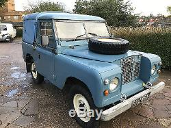 LAND ROVER SERIES 1971 2A iia DIESEL GALVANISED CHASSIS TAX EXEMPT