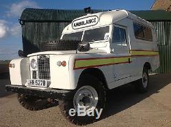 LAND ROVER SERIES 2A. One of the best you will find. Just so GENUINE. Ohh MATRON