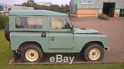 Land Rover Series 2 1959 Tax And Mot Exempt