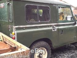 LAND ROVER SERIES 3 88' 2.25 PETROL IN GREEN ONLY 55K MILES