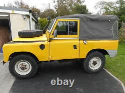 LAND ROVER Series 3 1977 Soft Top (Overland tour preparation) Classic Tax PETROL