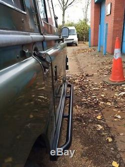 LAND ROVER Series 3 88HEAVY DUTY ROCK / TREE SLIDERS Despatched Next WorkingDay