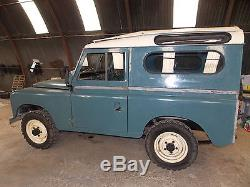 Lovely 1969 Land Rover Series 2a 88 Safari Station Wagon No Reserve