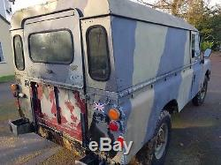 Land Rover 109 Series 3 Ex Army