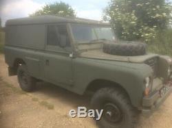 Land Rover 109 Series Ex Military 200 tdi Overdrive Tax Free Electronic Warfare