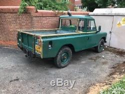 Land Rover 109 series 3 tax and mot exempt