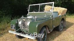 Land Rover 1950 Series 1 80