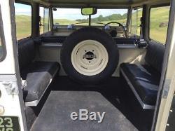 Land Rover 1960 Series 2 petrol 70th Birthday Display Vehicle