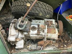 Land Rover 2, 2a, 3 series short wheelbase (Barn Find/Restoration)