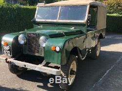 Land Rover 86 Series 1 one