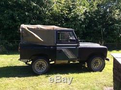 Land Rover 88 Series 3 galvanised chassis