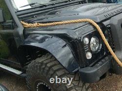 Land Rover Defender 110 Bowler Spectre 007 Front & Rear Wheel Arches Set Da1348