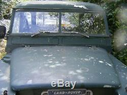 Land Rover Defender Series 2 109 1961 Barn Find/project