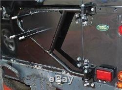 Land Rover Defender / Series Swingaway Spare Wheel Carrier DA2232